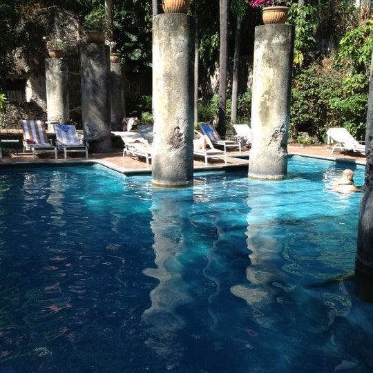 Photo taken at Hotel & SPA Hacienda de Cortés by Efren A. on 11/19/2012