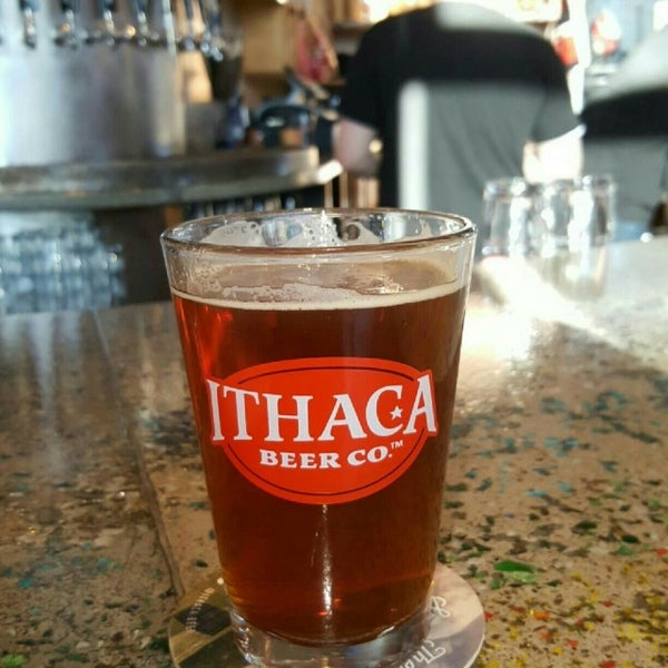Photo taken at Ithaca Beer Co. Taproom by Gloria R. on 11/14/2016
