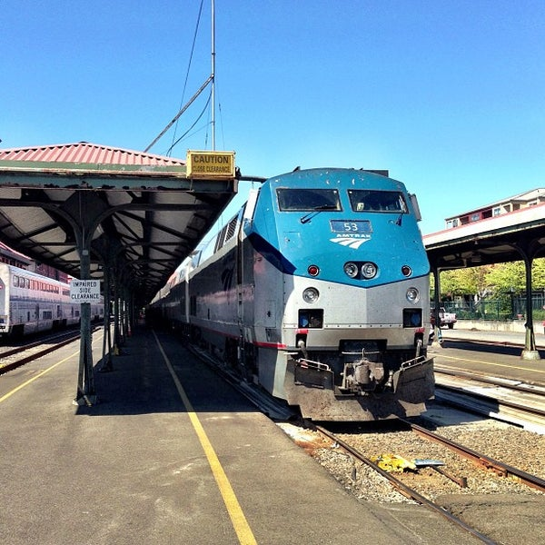 Photo taken at Union Station Amtrak (PDX) by Rande K. on 8/18/2013