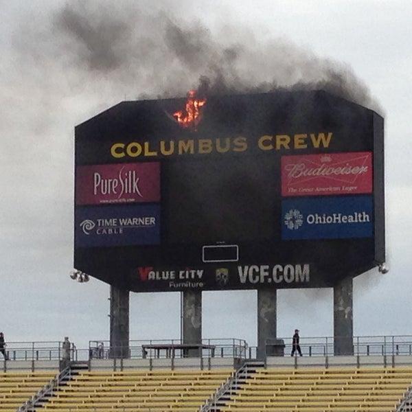 Photo taken at MAPFRE Stadium by Bradley M. on 4/28/2013