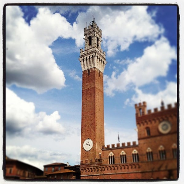 Photo taken at Piazza del Campo by Marcelo G. on 6/27/2013