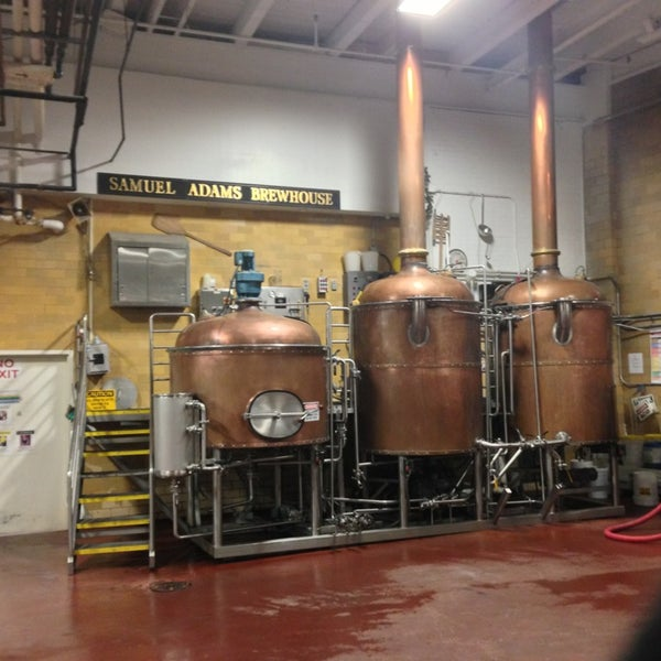 Photo taken at Samuel Adams Brewery by Matt B. on 1/17/2013