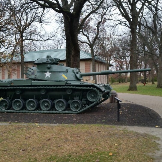 Photo taken at Cantigny Park by Wendy C. on 11/1/2014