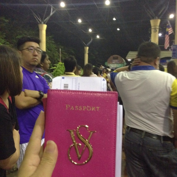 Photo taken at Bukit Kayu Hitam Immigration Complex by Sharon A. on 8/28/2015