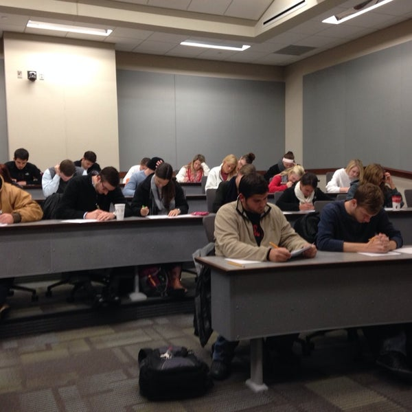 Photo taken at TTU - Rawls College of Business by Lin H. on 11/25/2013