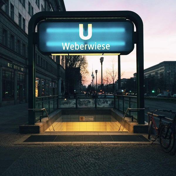 Photo taken at U Weberwiese by Moritz D. on 4/11/2016