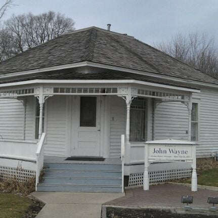 Photo taken at John Wayne Birthplace Museum by Brenda B. on 2/20/2012