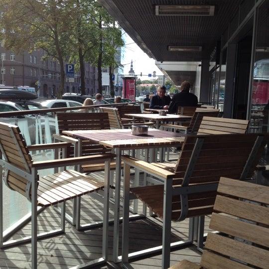 Photo taken at Zebra Café by Dmitri on 8/11/2012
