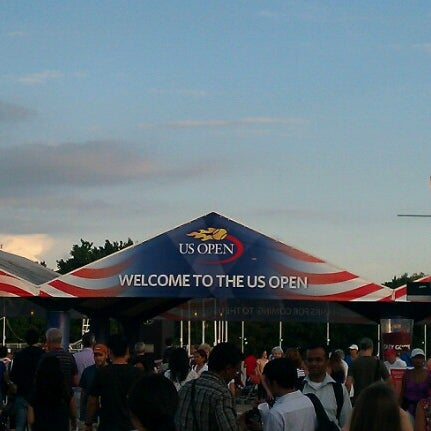 Photo taken at US Open Tennis Championships by Eurika D. on 8/27/2012