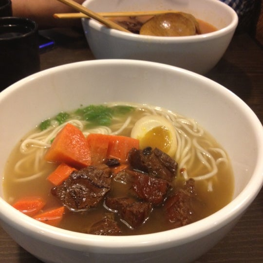 Photo taken at 董家台灣牛肉麵 Dong's Beef Noodles by Katherine H. on 6/10/2012