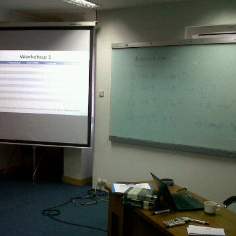 Photo taken at Telkom Business School by Iqbal F. on 5/2/2012