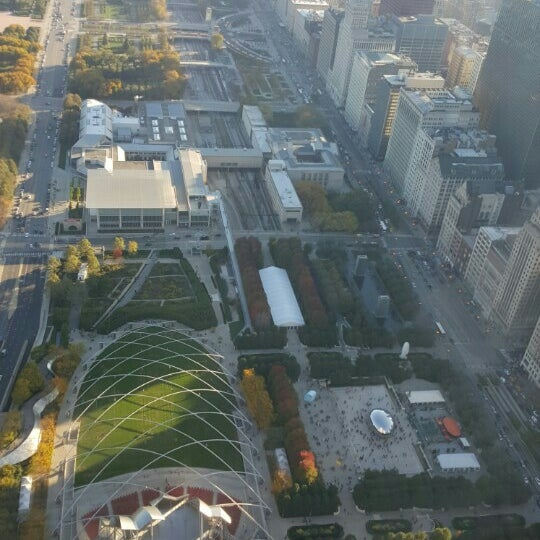Photo taken at Aon Center by jamey b. on 10/18/2015