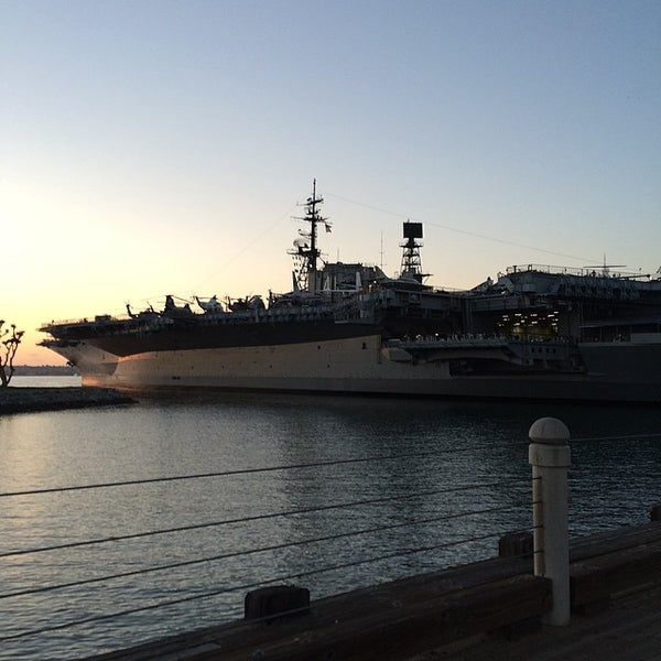 Photo taken at USS Midway Museum by Benj A. on 3/14/2014