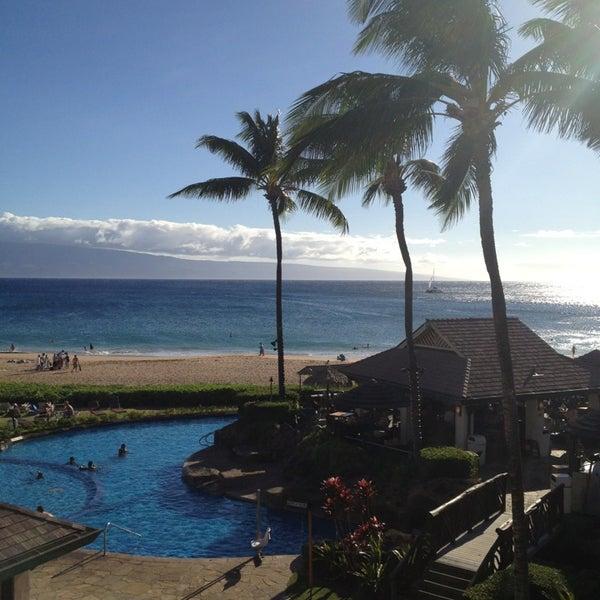 Photo taken at Sheraton Maui Resort & Spa by RyanLikesRed on 6/16/2013