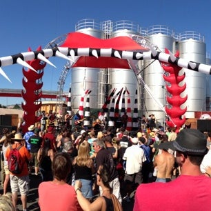 Photo taken at Lagunitas Brewing Company by Bill K. on 5/19/2013