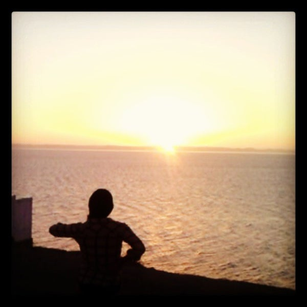 Photo taken at Playa Pichilingue by Shel' G. on 4/8/2013