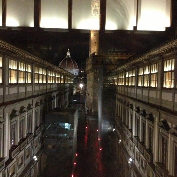 Photo taken at Galleria degli Uffizi by Nina on 1/17/2013