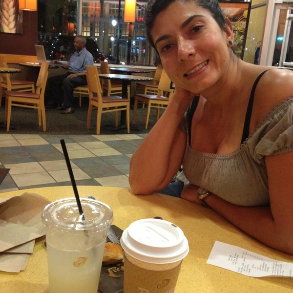 Photo taken at Panera Bread by Frans G. on 8/28/2013