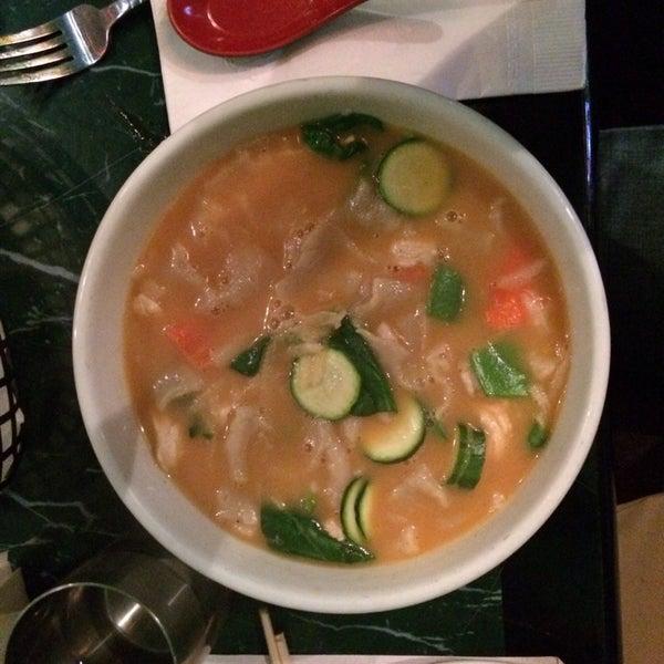 Photo taken at Cafe Tibet by Jenny G. on 1/20/2014