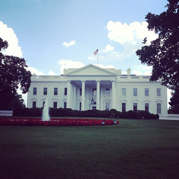 Photo taken at The White House by Somesnm on 7/15/2013