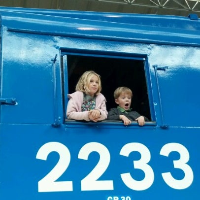 Photo taken at Railroad Museum of Pennsylvania by Sharon L. on 10/21/2012