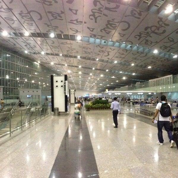 Photo taken at Netaji Subhash Chandra Bose International Airport (CCU) by Koustubh S. on 5/24/2013