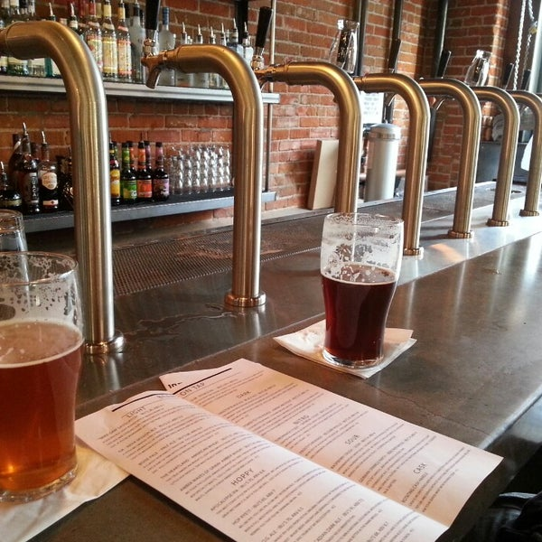 Photo taken at 10 Barrel Brewing by Christine C. on 5/6/2013