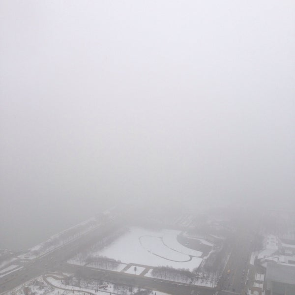 Photo taken at Aon Center by Arek D. on 3/3/2016