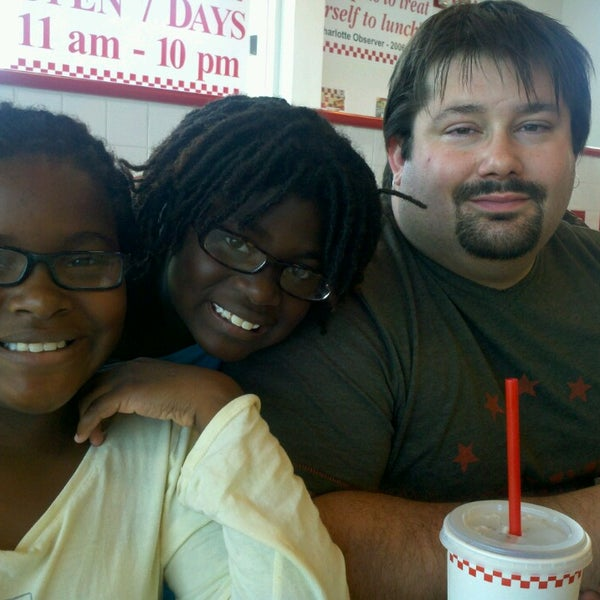 Photo taken at Five Guys by Renae D. on 7/14/2013