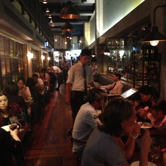 Photo taken at Jamie's Italian by Akira K. on 10/17/2012