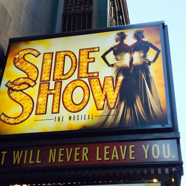 Photo taken at St. James Theatre by Jason K. on 11/25/2014