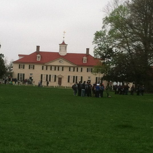 Photo taken at George Washington's Mount Vernon Estate, Museum & Gardens by Kristin A. on 3/25/2012