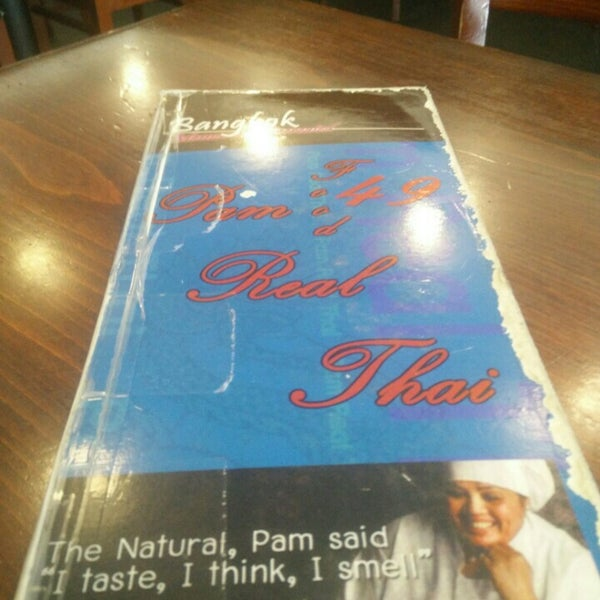 Photo taken at Pam Real Thai by Ian T. on 8/19/2015