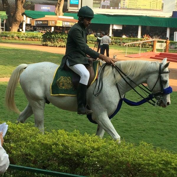 Photo taken at Mahalaxmi Race Course (Royal Western India Turf Club) by Anirban S. on 12/20/2015