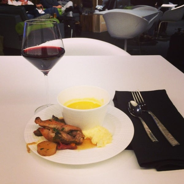 Photo taken at The Centurion Lounge by American Express by David O. on 11/4/2013