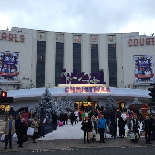 Photo taken at Earls Court Exhibition Centre by Sarah O. on 11/17/2012