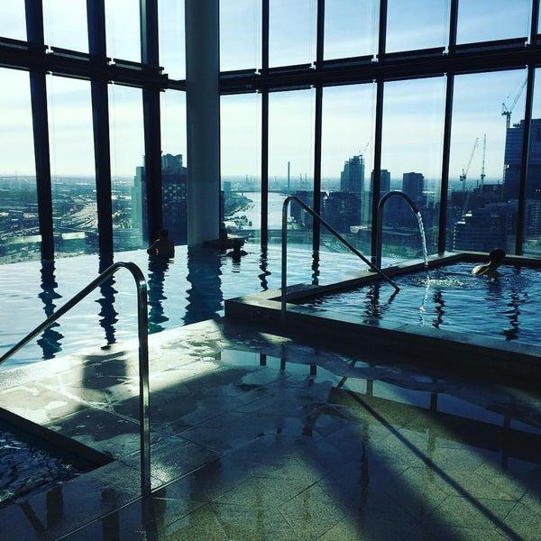 Photo taken at Crown Metropol Hotel by Sarah O. on 2/22/2016