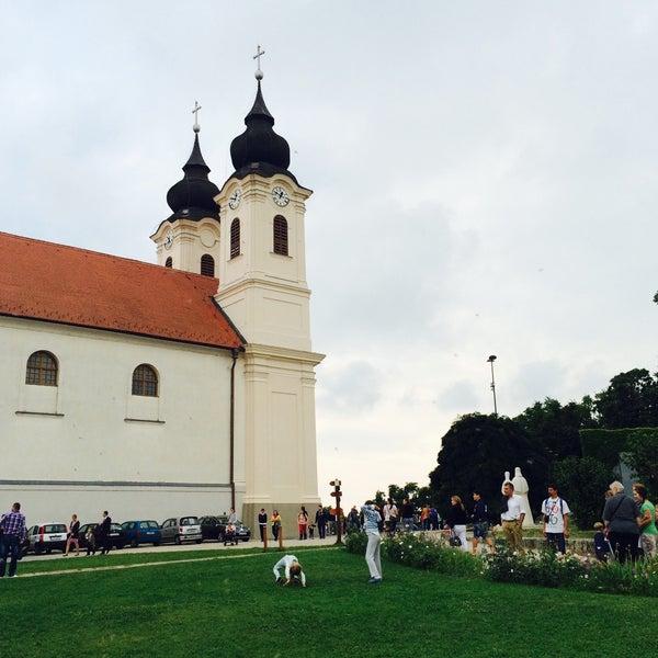 Photo taken at Tihanyi Apátság by Dóra K. on 8/23/2015