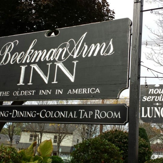 Photo taken at Beekman Arms-Delamater Inn by Paula S. on 10/15/2013