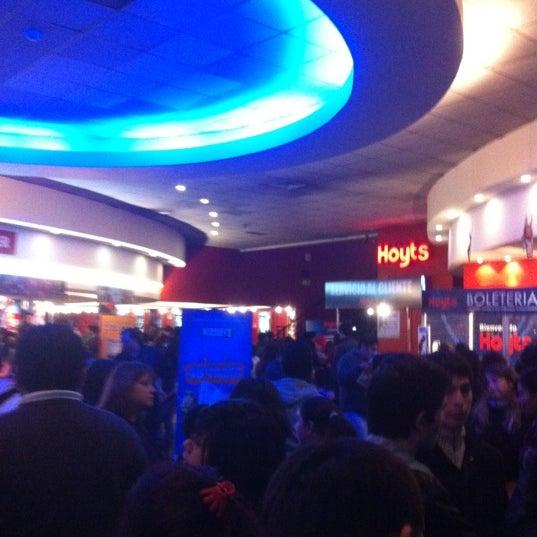 Photo taken at Cine Hoyts by Kako F. on 7/10/2012