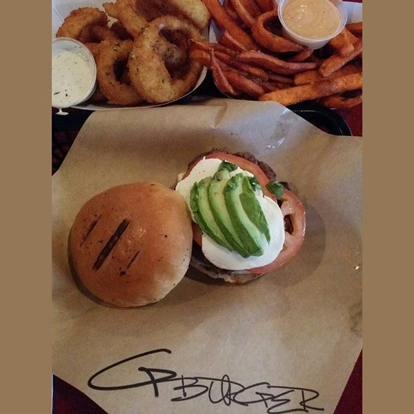 Photo taken at G Burger by Andrew K. on 11/10/2014