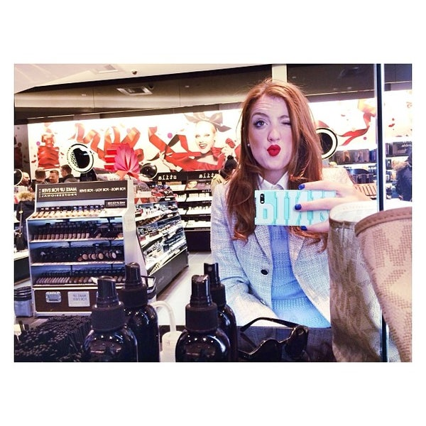 Photo taken at Sephora - Soho by Micaela M. on 1/1/2014