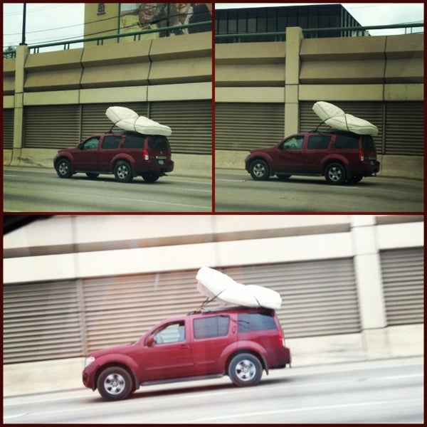 Photo taken at U.S. Highway 75 (US-75) by Mia on 4/7/2013