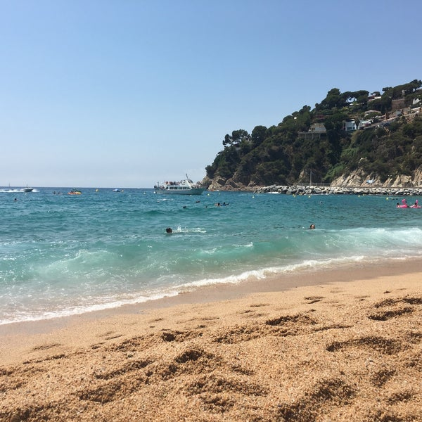 Photo taken at Cala Canyelles by Jose C. on 7/31/2016