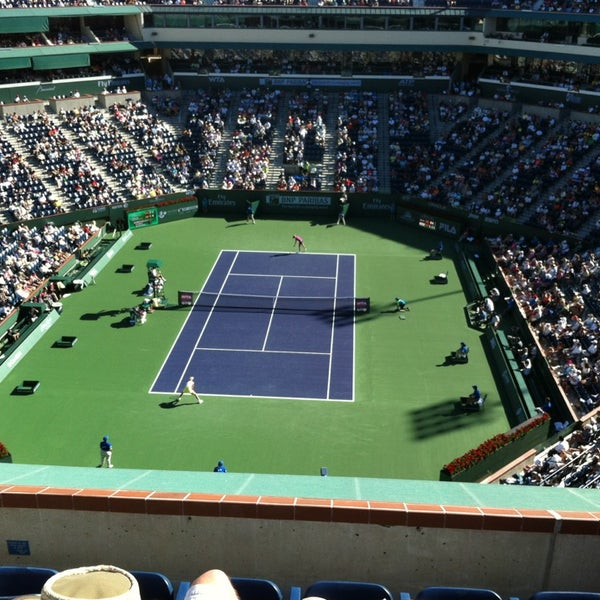 Photo taken at Indian Wells Tennis Garden by Jeff V. on 3/12/2013
