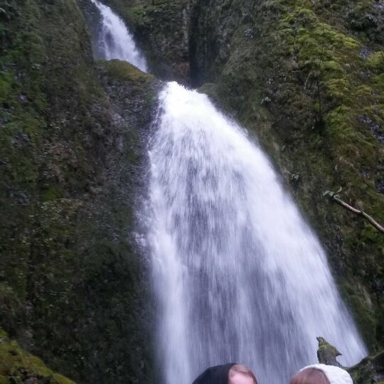 Photo taken at Wahclella Falls Trail by Peggie H. on 2/13/2016