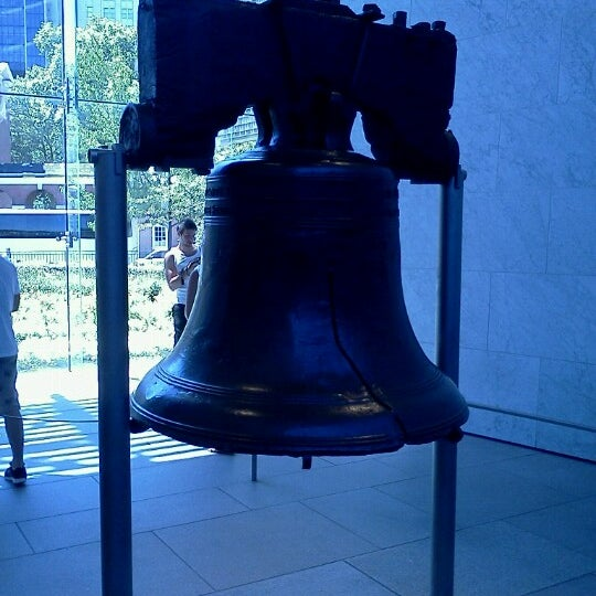 Photo taken at Liberty Bell Center by Sarah R. on 7/25/2012