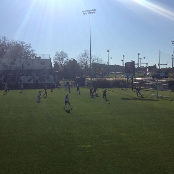 Photo taken at Jeffrey Field by Ron S. on 11/8/2015