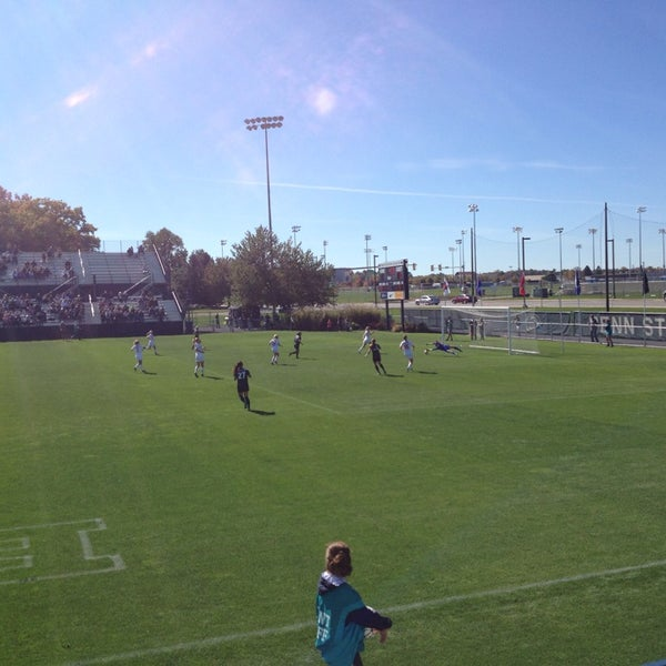 Photo taken at Jeffrey Field by Ron S. on 10/11/2015