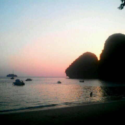 Photo taken at Rayavadee by Lanchakorn R. on 3/29/2012